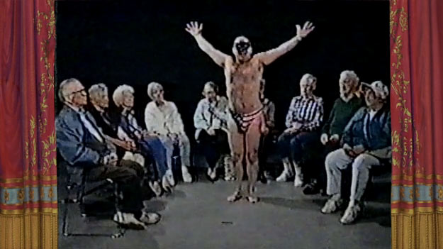 Found Footage Show: Half-Naked Man Dances For Old People