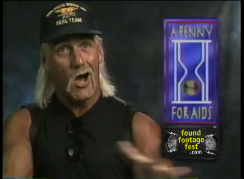 Hulk Hogan: A Penny For AIDS