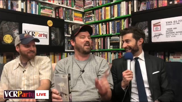 VCR Party Live! Episode 11 – Scott Rogowsky