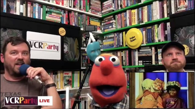 VCR Party Live! Episode 17 – Ryan Dillon & Puppets