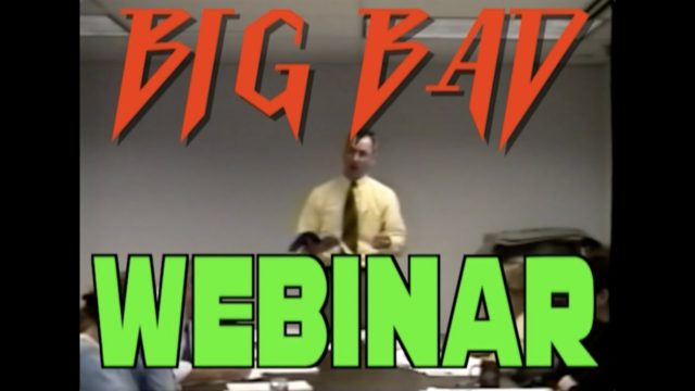 Found Footage Festival's Big Bad Webinar trailer