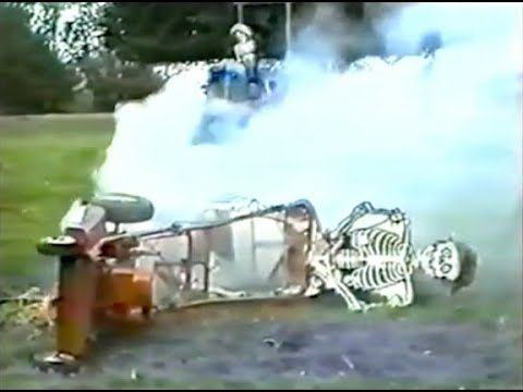 VCR Party Live: Episode 122 – A Skeleton Rides A Lawnmower