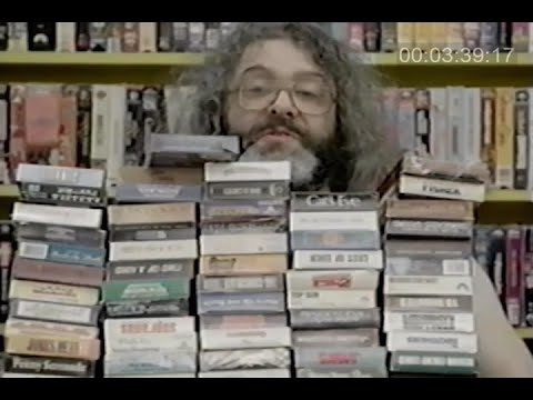 VCR Party Live! Ep. 132 with VHS collector, Judah Friedlander (presented by Joan Collins)