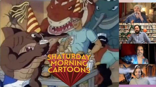 Shaturday Morning Cartoons, Ep 17 – Street Sharks with Jason Griffith