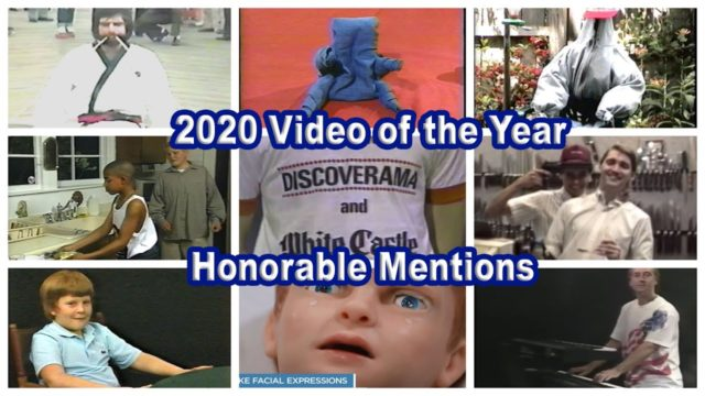 2020 Video of the Year Honorable Mentions