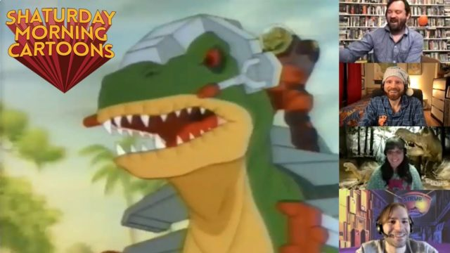 Shaturday Morning Cartoons – Dino-Riders with Rebecca Dart