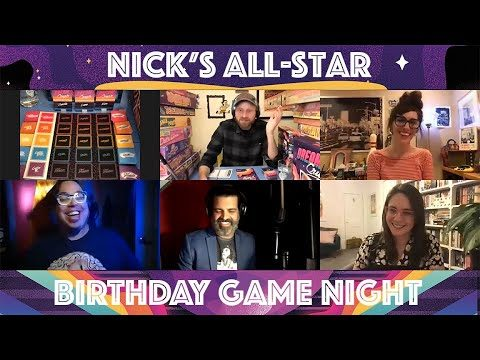 Nick's All-Star Birthday Game Night