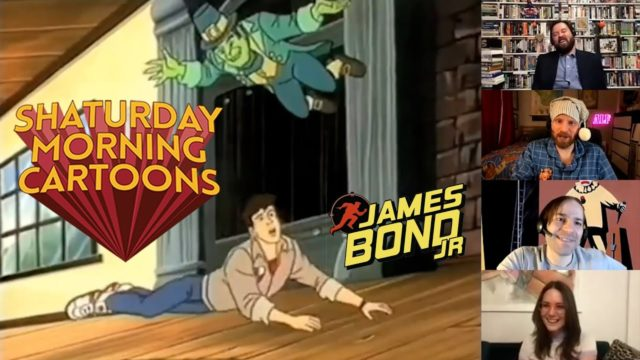 Shaturday Morning Cartoons – James Bond Jr with Caitlin McGurk