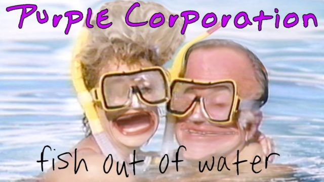 """Purple Corporation """"Fish Out of Water"""" – official music video"""