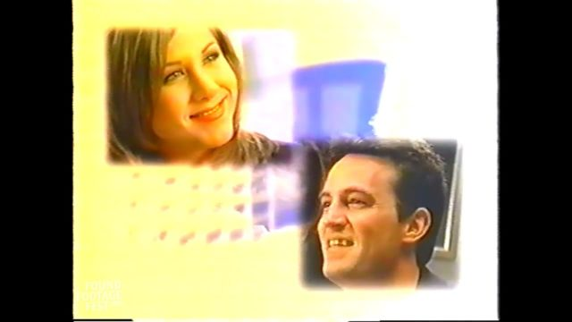 Matthew Perry & Jennifer Aniston in the Windows 95 Video Guide