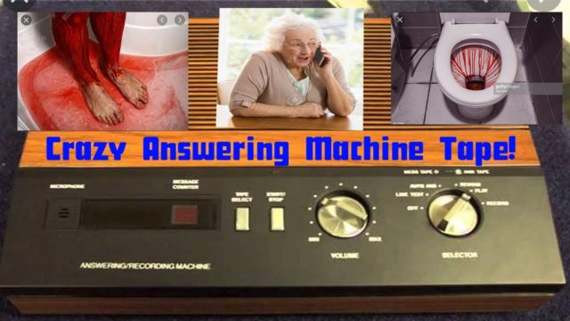 Found Answering Machine Tape Takes You On A Horrific Journey