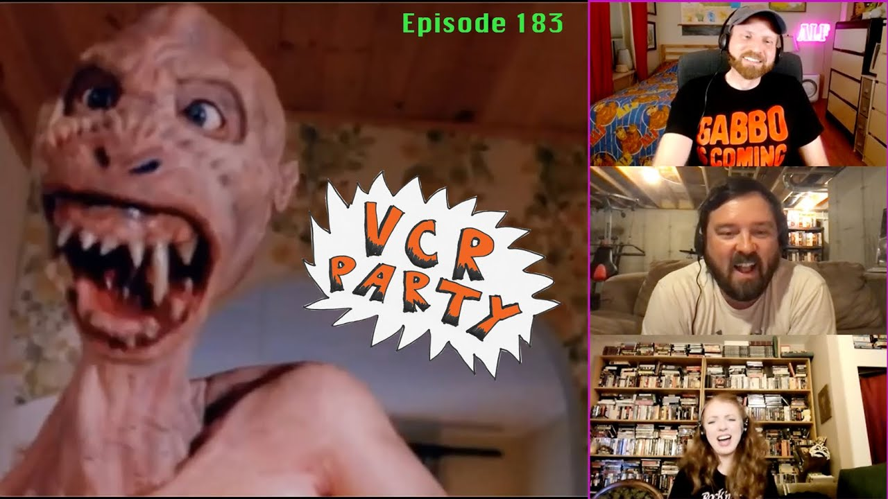 VCR Party Live! ep. 183 – Butt Rock Horror with KJ!